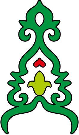 орнаменты в картинках татарские